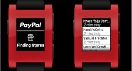 PayPal ya permite realizar pagos desde el smartwatch Pebble