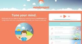 mindscapes, sitio especializado en generar música  y sonidos relajantes