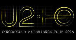 U2 anuncia su gira 2015 iNNOCENCE + eXPERIENCE