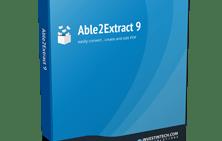 Able2Extract PDF Converter 9, convirte tus archivos PDF a otro formatos