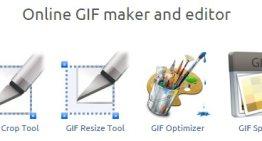 Ezgif: crea y edita GIFs animados desde Internet