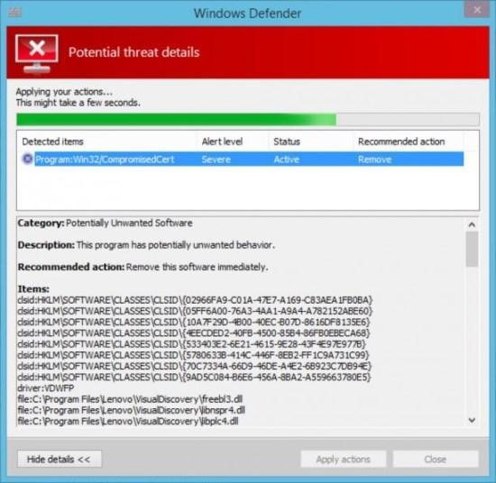 Windows-Defender-Superfish