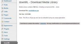 downMLm, plugin para WordPress que ayuda a descargar los archivos de tu blog