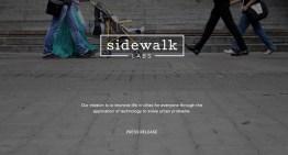 Sidewalk Laps, la nueva apuesta de Google para mejorar la vida urbana