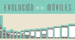 Infografía: Evolución de los Móviles