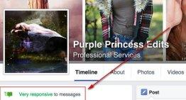 Facebook comenzó a mostrar la frecuencia del tiempo de respuesta de los mensajes en las páginas