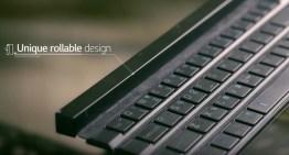LG Rolly Keyboard, un teclado QWERTY con un diseño diferente