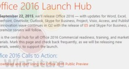 Office 2016 para Windows llegará 22 de septiembre
