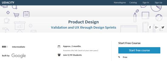 Product Design - Udacity
