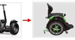 ogo, un Segway moficado y adaptado para ser usado como silla de ruedas eléctrica