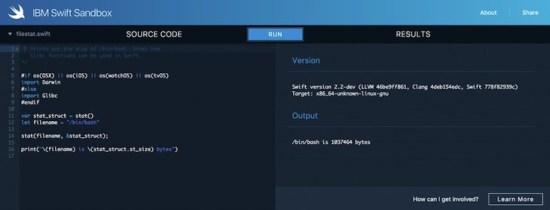 IBM-Swift-Sandbox
