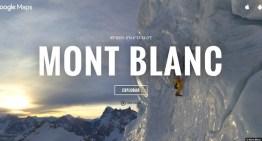 Mont Blanc, el punto más alto de la Unión Europea, ya esta en Google Street View