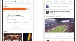 Sports Stadium, la nueva área de Facebook para los fanáticos de los deportes
