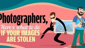 Infografía: Fotógrafos, he aquí lo que deben hacer si sus fotos son robadas