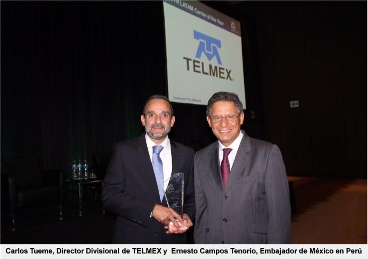 Carlos Tueme y Ernesto Campos Tenorio