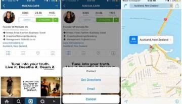 Instagram ya ofrece páginas para negocios