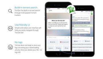 TorrZan, un bot para descargar de forma anónima torrents desde Telegram