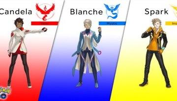 Pokémon GO contará con nuevos personajes y líderes de equipo