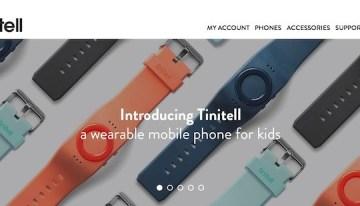 Tinitell, dispositivo con GPS incorporado para facilitar la localización de los niños