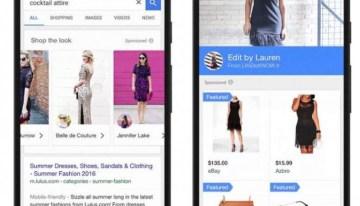 Google estrena función que permitirá vender ropa desde el buscador