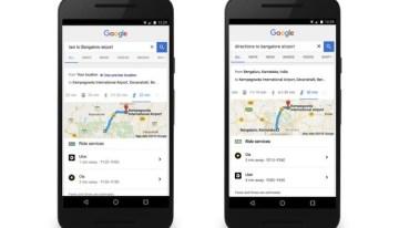 Google ya muestra información de trayectos con Uber en sus resultados de búsqueda
