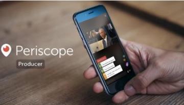Twitter presenta Periscope Producer, una nueva forma de compartir videos profesionales en directo