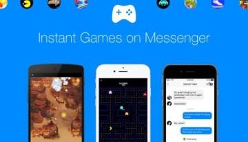 Instant Games, la plataforma de juegos clásicos de Facebook Messenger