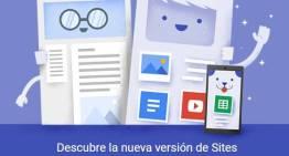 Google renueva por completo su herramienta SItes