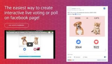 Live Reacting, herramienta para crear encuestas en Facebook basadas en reacciones