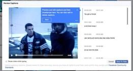Facebook agrega herramienta de subtitulos a los videos de las Páginas