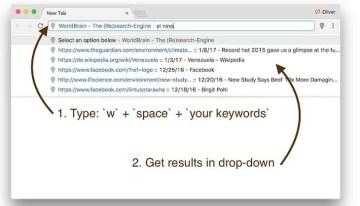 WorldBrain – The (Re)search-Engine, extensión que facilita buscar dentro de los marcadores e historial de Google Chrome