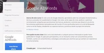 Surge curso gratuito sobre ADWords