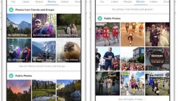 Facebook implementa la búsqueda de fotografías por el tipo de contenido