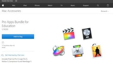 Apple lanza paquete de aplicaciones profesionales de creatividad para el sector educativo