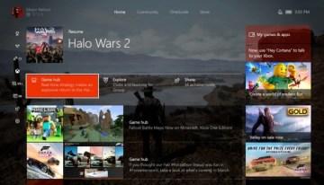 Xbox One ya cuenta con la actualización Creators Update