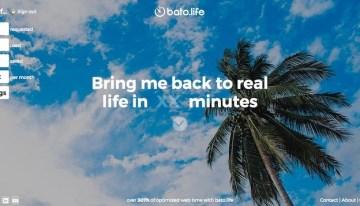Bato.Life, sitio web que limita el tiempo que pasamos navegando