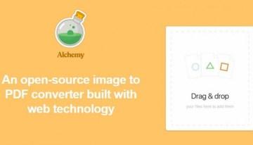 Alchemy, aplicación de código abierto para transformar imágenes en PDF o GIF