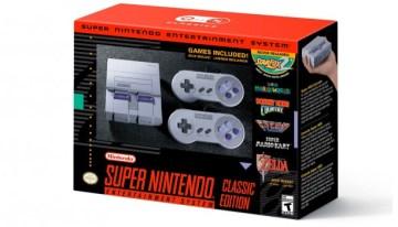 Nintendo anuncia la versión clásica del SNES para finales del mes de septiembre de 2017