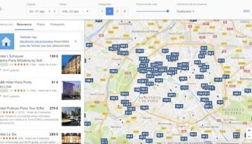 El buscador de Google permitirá ver la disponibilidad en hoteles para una fecha y lugar determinados