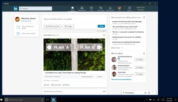 LinkedIn estrena aplicación para Windows 10