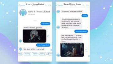 GoTBot, un chatbot que responde tus dudas sobre Game of Thrones