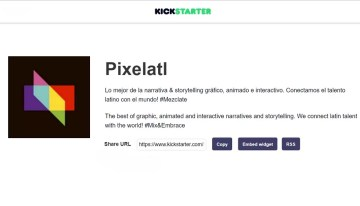 Kickstarter y Pixelatl unen fuerzas para apoyar a una nueva generación de creativos mexicanos