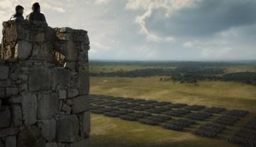 Nikolaj Coster-Waldau as Jaime Lannister and Jerome Flynn as Bronn – Photo: HBO