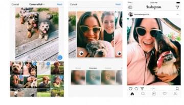 Actualización de Instagram ya permite crear álbumes con fotografías en formatos horizontal y vertical
