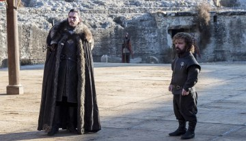 Kit Harington as Jon Snow and Peter Dinklage as Tyrion Lannister – Photo: Macall B. Polay/HBO