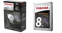 Toshiba presenta su nueva generación de discos duros de hasta 8 TB