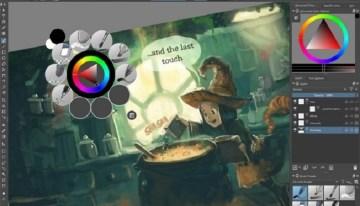 Selección de aplicaciones para dibujar y editar imágenes en Windows