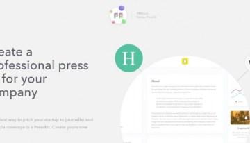 Presskit, sitio web que ofrece herramientas para generar dossier de prensa
