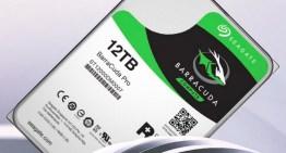 Seagate anuncia el BarraCuda Pro, un disco duro de 12 TB