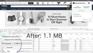 Bandwidth Hero, extensión para Google Chrome que ahorra megas mediante la compresión de imágenes